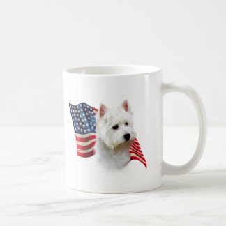 West Highland White Terrier Flag Coffee Mug