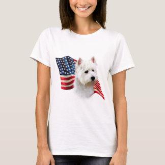 West Highland White Terrier Flag T-Shirt