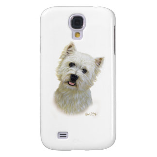 West Highland White Terrier Galaxy S4 Cases