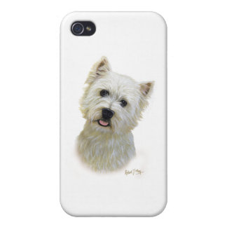 West Highland White Terrier iPhone 4 Case