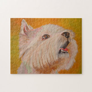 West Highland White Terrier Jigsaw Puzzle