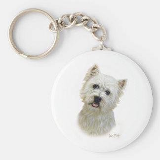 West Highland White Terrier Key Chains