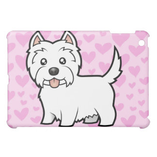 West Highland White Terrier Love (add a pern) iPad Mini Cases