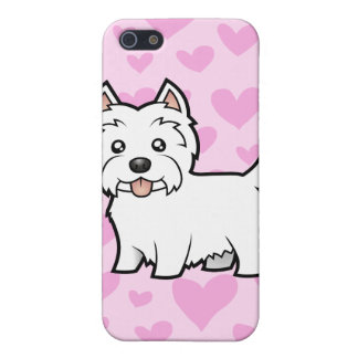 West Highland White Terrier Love (add a pern) iPhone SE/5/5s Case
