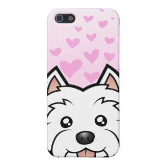 West Highland White Terrier Love Cover For iPhone SE/5/5s