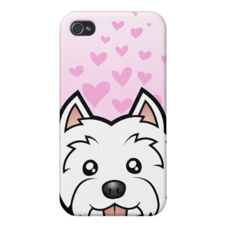 West Highland White Terrier Love iPhone 4/4S Case