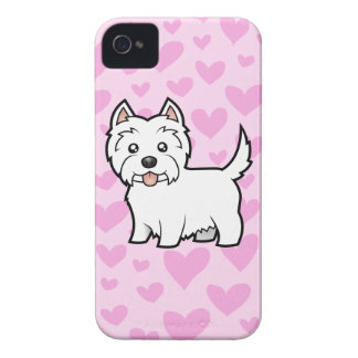 West Highland White Terrier Love iPhone 4 Case-Mate Case