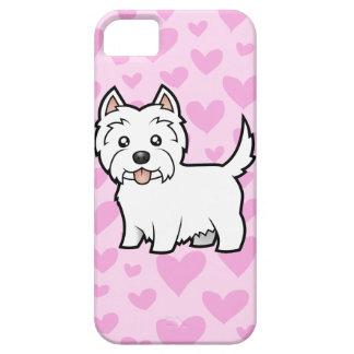 West Highland White Terrier Love iPhone SE/5/5s Case