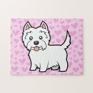 West Highland White Terrier Love Jigsaw Puzzle