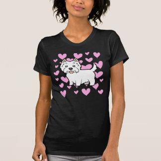West Highland White Terrier Love T-Shirt