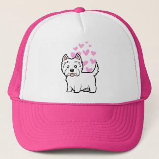West Highland White Terrier Love Trucker Hat