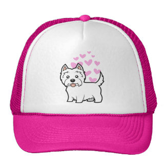 West Highland White Terrier Love Trucker Hat