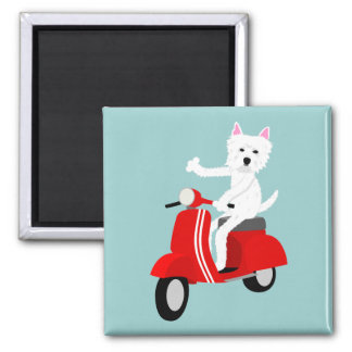 West Highland White Terrier  Refrigerator Magnet