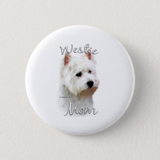West Highland White Terrier Mom 2 Button