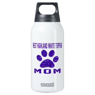 West Highland White Terrier Mom Designs SIGG Thermo 0.3L Insulated Bottle