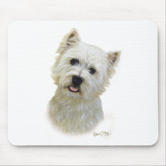 West Highland White Terrier Mouse Pad