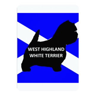 west highland white terrier name silo on Scotland Card