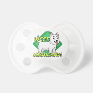 West Highland White Terrier Pacifier