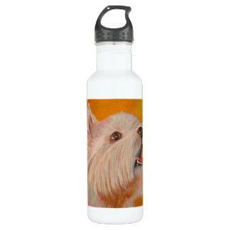 West Highland White Terrier 24oz Water Bottle