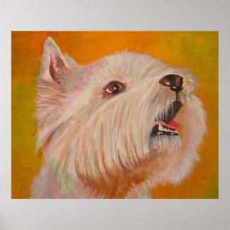 West Highland White Terrier Print