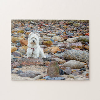 West Highland White Terrier Puzzle Jigsaw Puzzle