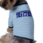 West Highland White Terrier Silhouette Pet T Shirt