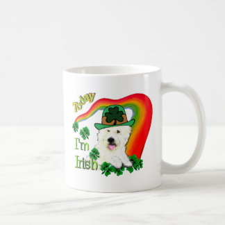 West Highland White Terrier St Pats Coffee Mug