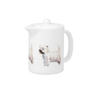 West Highland White Terrier Teapot at Zazzle