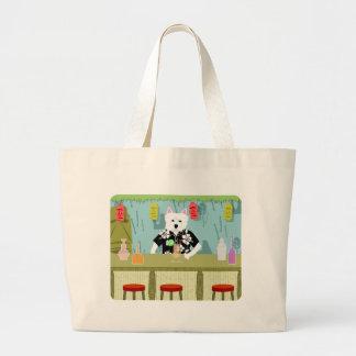 West Highland White Terrier Tiki Bar Bags