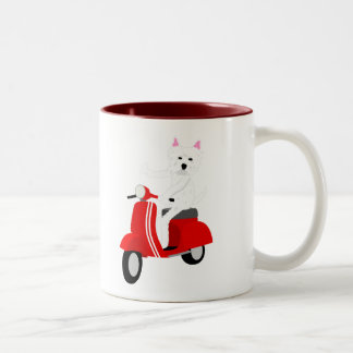 West Highland White Terrier  Two-Tone Coffee Mug