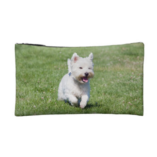 West Highland White Terrier, westie dog cute photo Cosmetic Bag