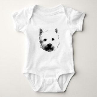 West Highland White Terrier Westie Dog Image Infant Creeper