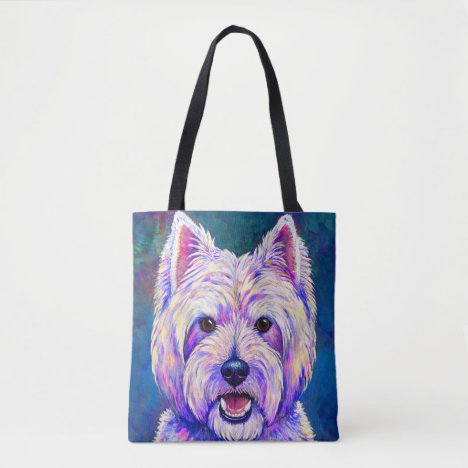 West Highland White Terrier Westie Dog Tote Bag