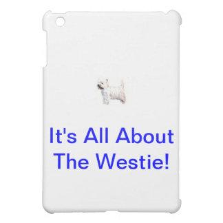 West Highland White Terrier Westie iPad Mini Case