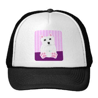 West Highland White Terrier Westie Puppy Trucker Hat