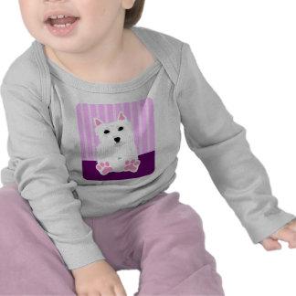 West Highland White Terrier Westie Puppy T Shirt