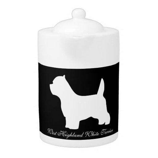 West Highland White Terrier, westie silhouette