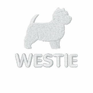 West Highland White Terrier with Optional Text Polo