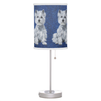 West Highland White Terriers Lamps