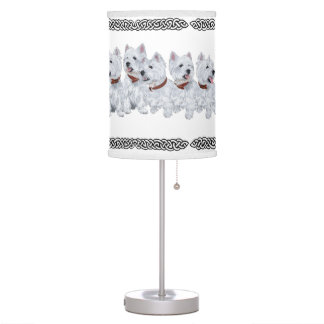 West Highland White Terriers Lamp