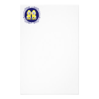 West Highland White Terriers Rain Stationery