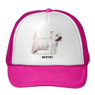 West Highland White Terriers Trucker Hat