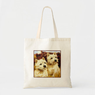 West highland White Terriers - Wardle Tote Bags