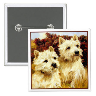 West highland White Terriers - Wardle Buttons