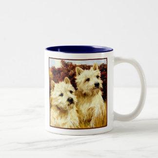 West highland White Terriers - Wardle Coffee Mug