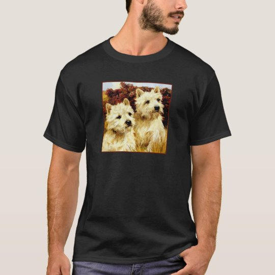 West highland White Terriers - Wardle T-Shirt