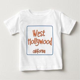 West Hollywood California BlueBox Baby T-Shirt