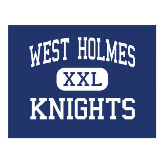 West Holmes Knights Middle Millersburg Ohio Postcard