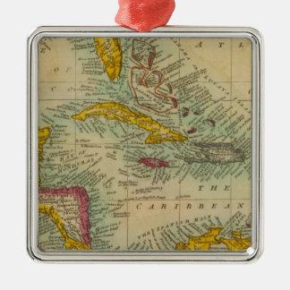 West India Islands Metal Ornament