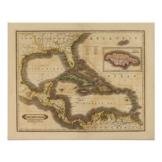 West India Islands Poster